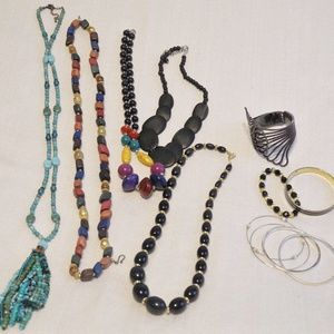 Lot of Necklaces & Bracelets Boho, Beads Costume